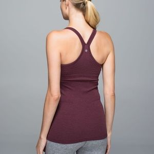 Lululemon Ebb to Street Tank with Built in Bra, 6